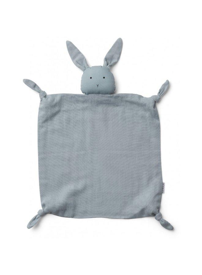 Liewood - Agnete / Cuddle Cloth - Rabbit Sea Blue