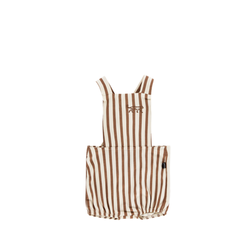 House of Jamie Baby Salopette - Toffee Stripes