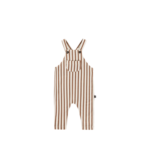 House of Jamie Dungaree - Toffee Stripes