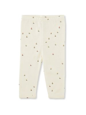 Konges Sløjd New Born Pants Deux - Mille Marine - Off White