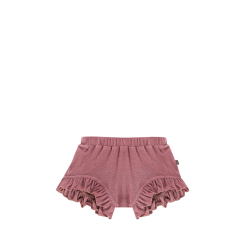 House of Jamie Ruffled Shorts - Orchid