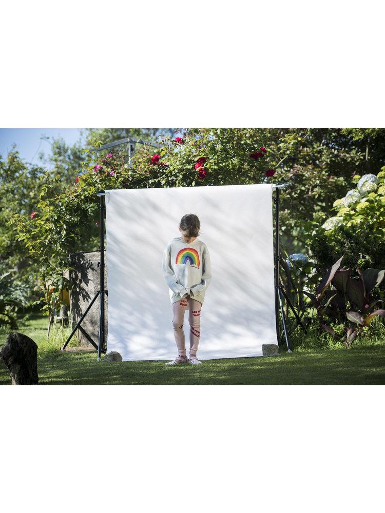 Les Petits Vandales Rainbow Sweat - Off White