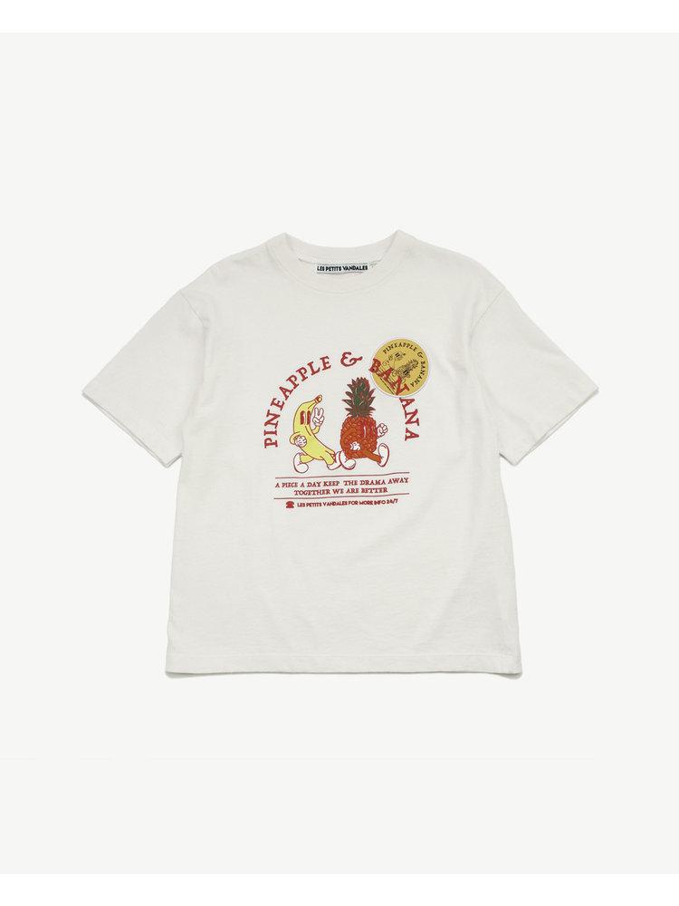 Les Petits Vandales Pineapple & Banana T-shirt