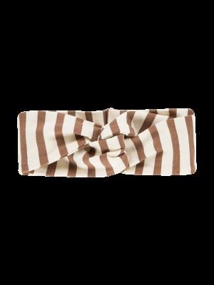 House of Jamie TurbanHeadband - Toffee Stripes