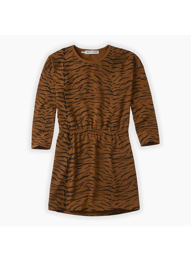 Dress - Tiger - Caramel