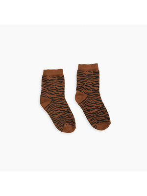 Sproet & Sprout Socks - Tiger - Caramel