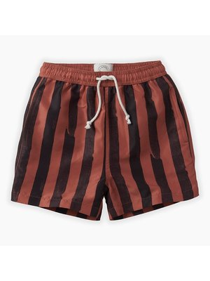 Sproet & Sprout Swimshort - Painted Stripe - Mango
