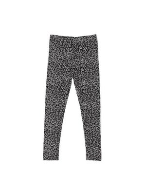 MarMar Copenhagen Leo Leg, Leopard - Pants - Grey Leo