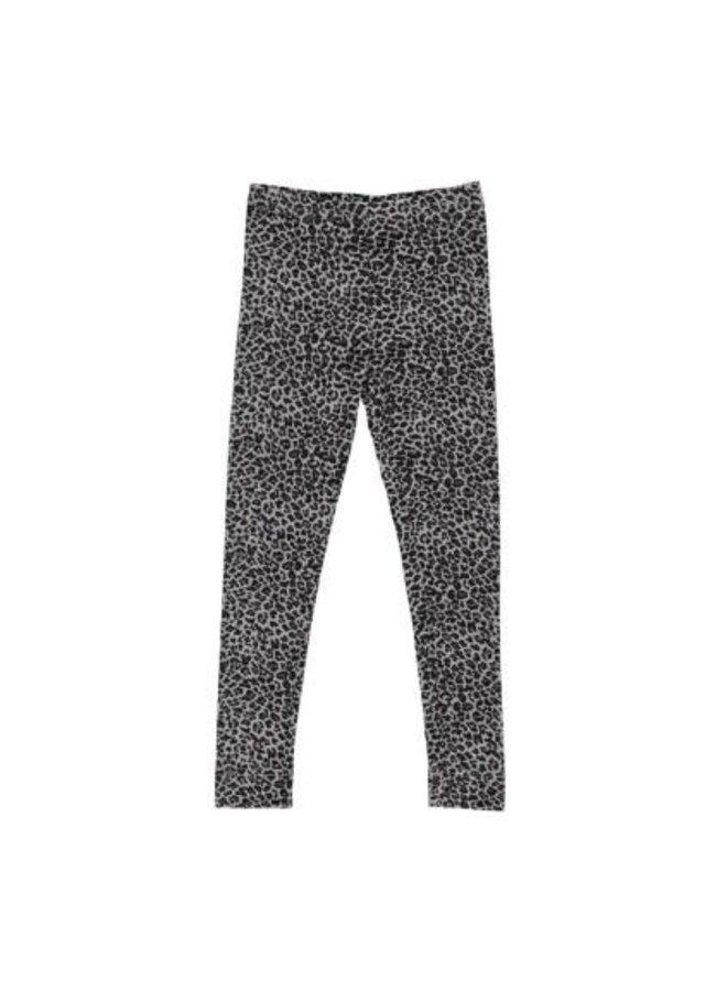 Leo Leg, Leopard - Pants - Grey Leo - 0901