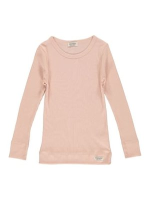 MarMar Copenhagen Plain Tee LS, Modal - T-shirts - Rose