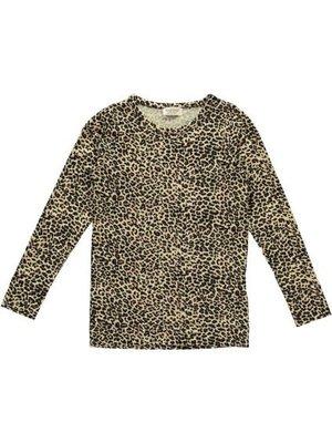 MarMar Copenhagen Leo Tee, Leopard - T-shirts - Brown Leo