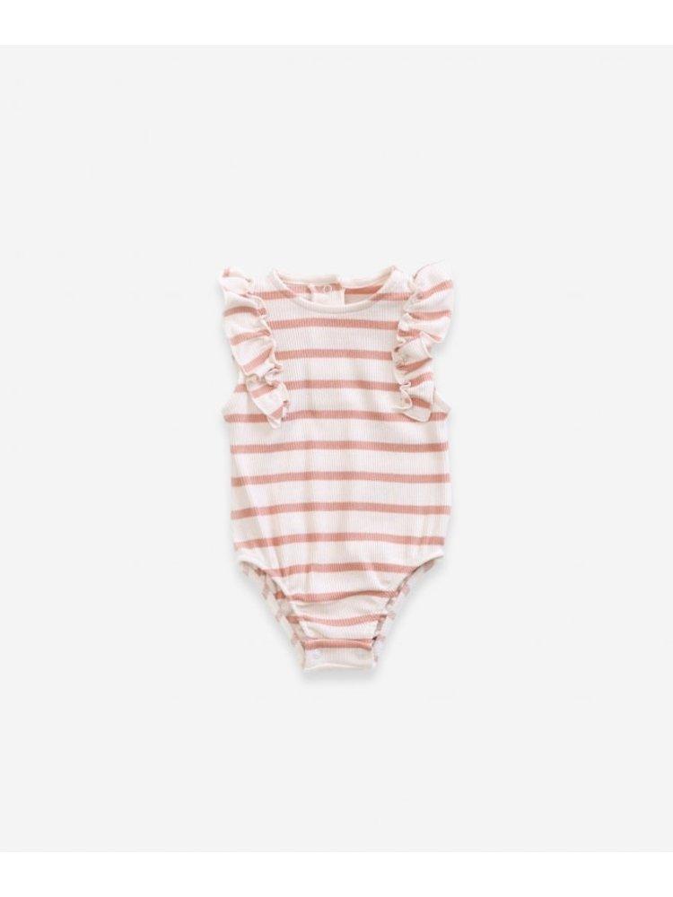 Play Up Striped RIB Body - Smooth