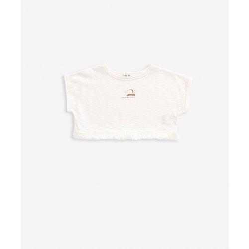 Play Up Flamé Jersey T-shirt - Natural
