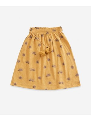 Play Up Printed Jersey Skirt - Sea Almond