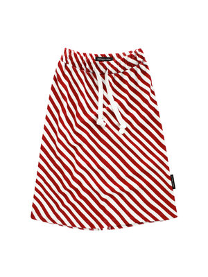 Your Wishes Red Stripes | Long Skirt