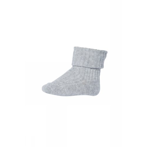 MP Denmark Anklesock 2/2 Pad Baby - 491 - Grey Marl.