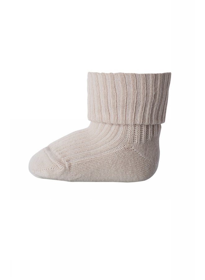 Anklesock 2/2 Pad Baby - 853 - Rose Dust