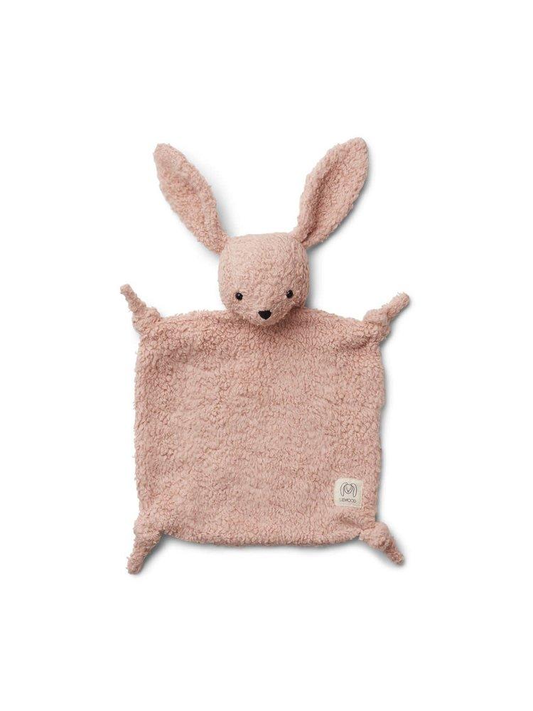Liewood Lotte Cuddle Cloth - Rabbit rose