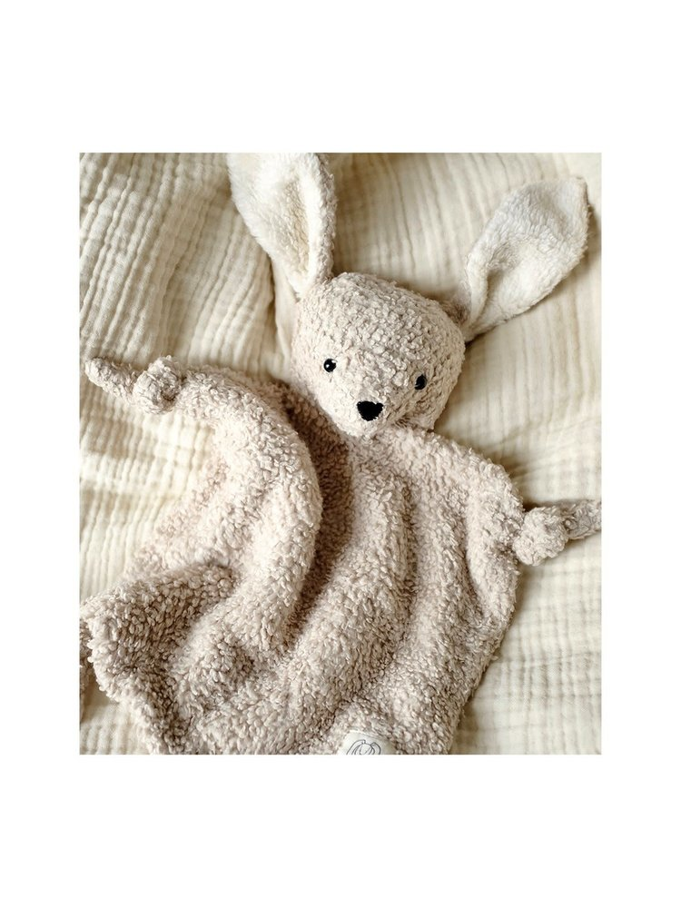 Liewood Lotte Cuddle Cloth - Rabbit pale grey