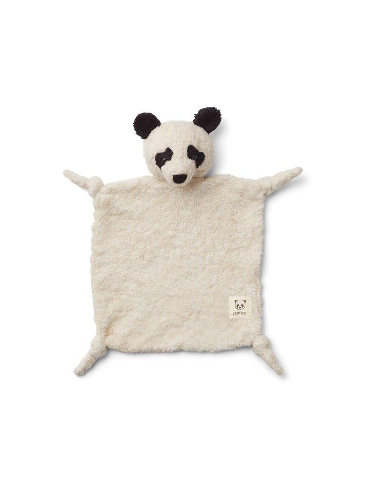 Liewood Lotte Cuddle Cloth - Panda creme de la creme