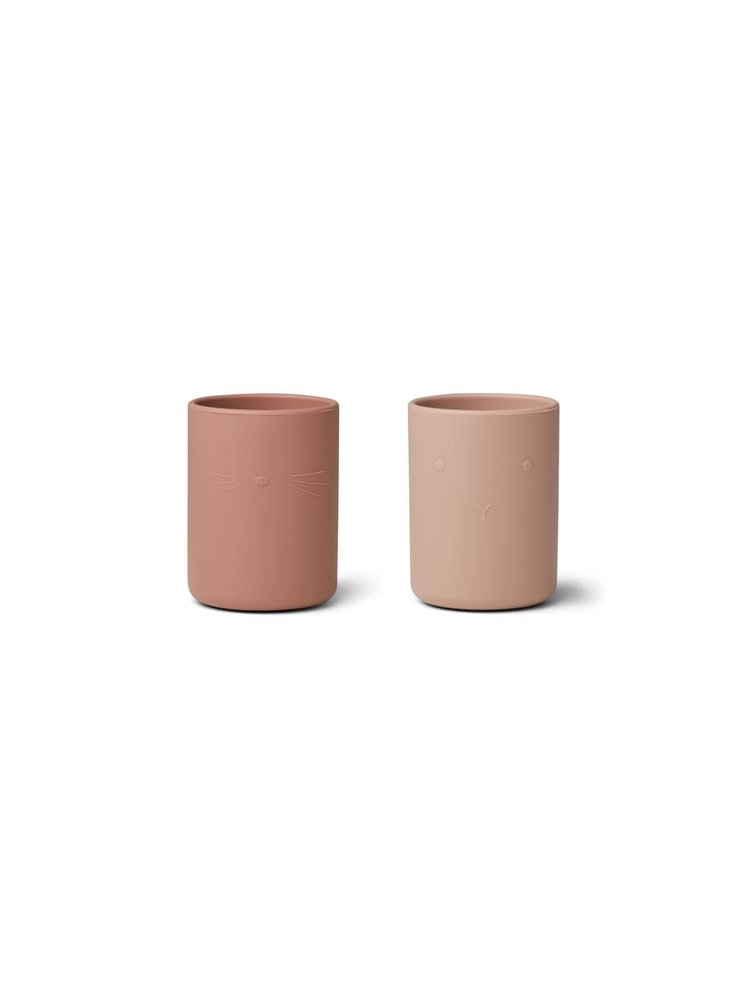 Liewood Ethan Cup 2 Pack - Rose mix