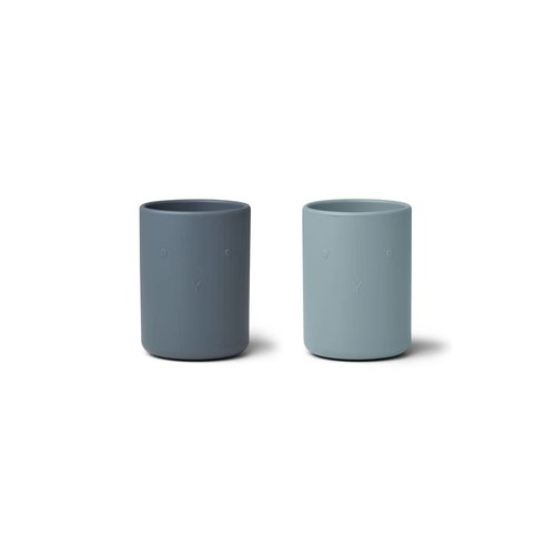 Liewood Ethan Cup 2 Pack - Blue mix