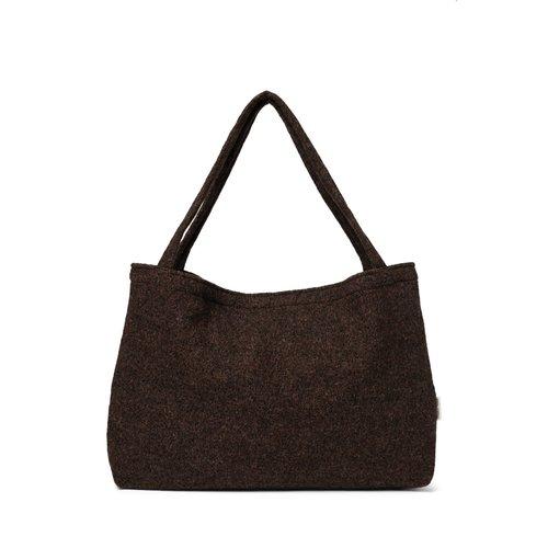 Studio Noos Wood Woolish mom-bag