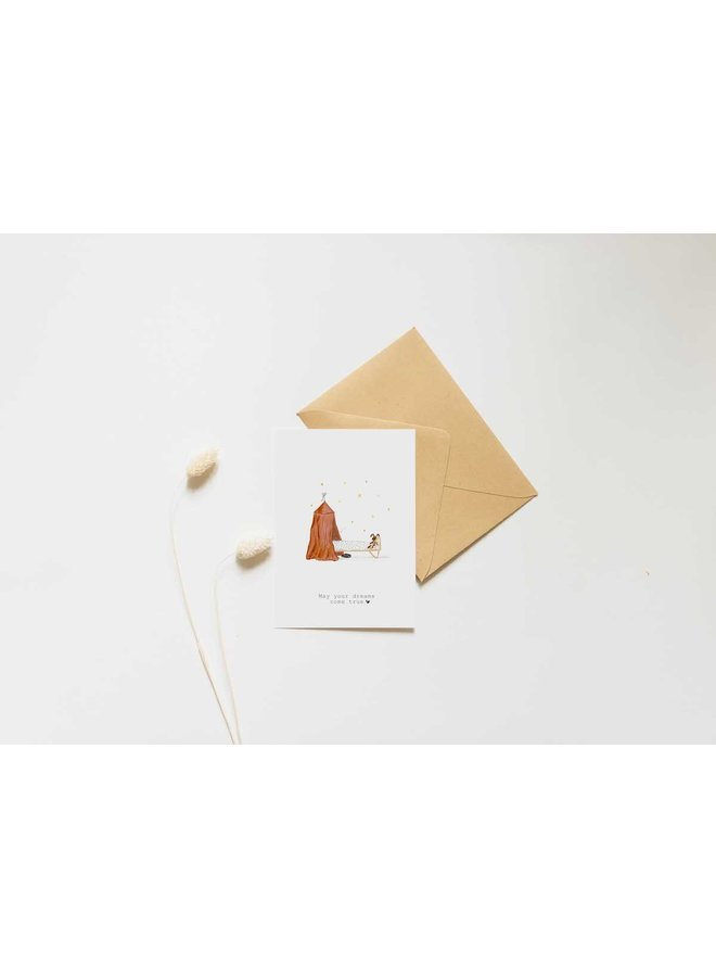 Kaart - May Your Dream Come True - A0041