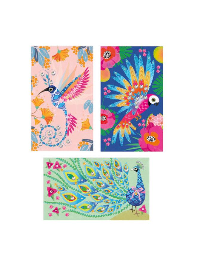 Janod - Atelier - Strass mooie vogels