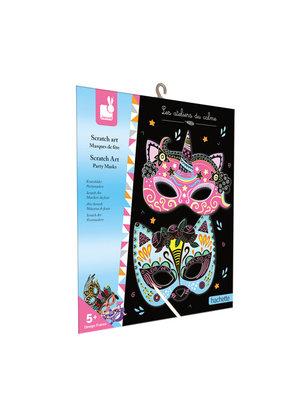 Janod Scratch Art - Feest Masker