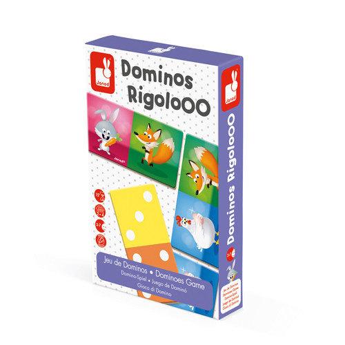 Janod Spel - Domino rigolooo