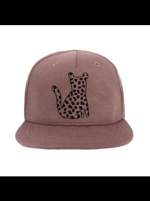 VanPauline Cap Leopard Spots - Dark Pink