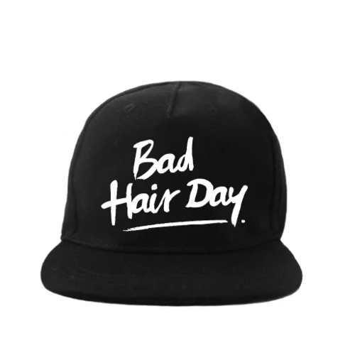 VanPauline Cap Bad Hairday - Black