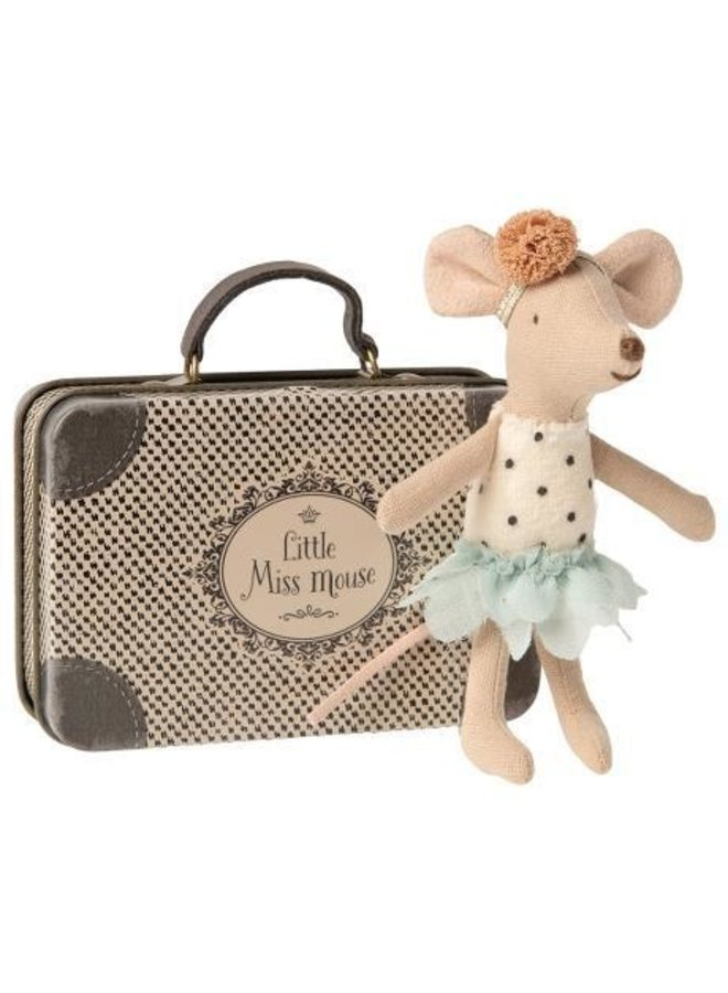 Little Miss Mouse in suitcase, Little sister