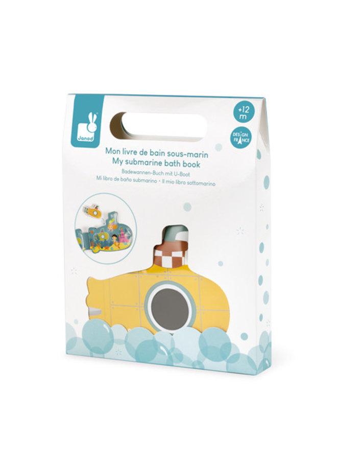 Janod - Badspeelgoed - Badboek Mijn Duikboot