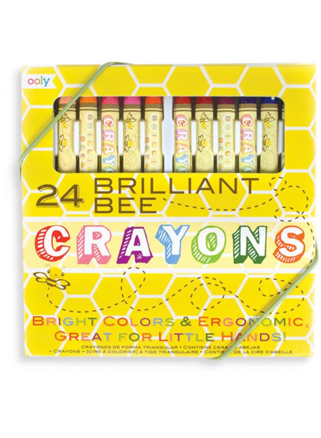 Ooly - Bijenwaskrijtjes ''Brilliant Bee''