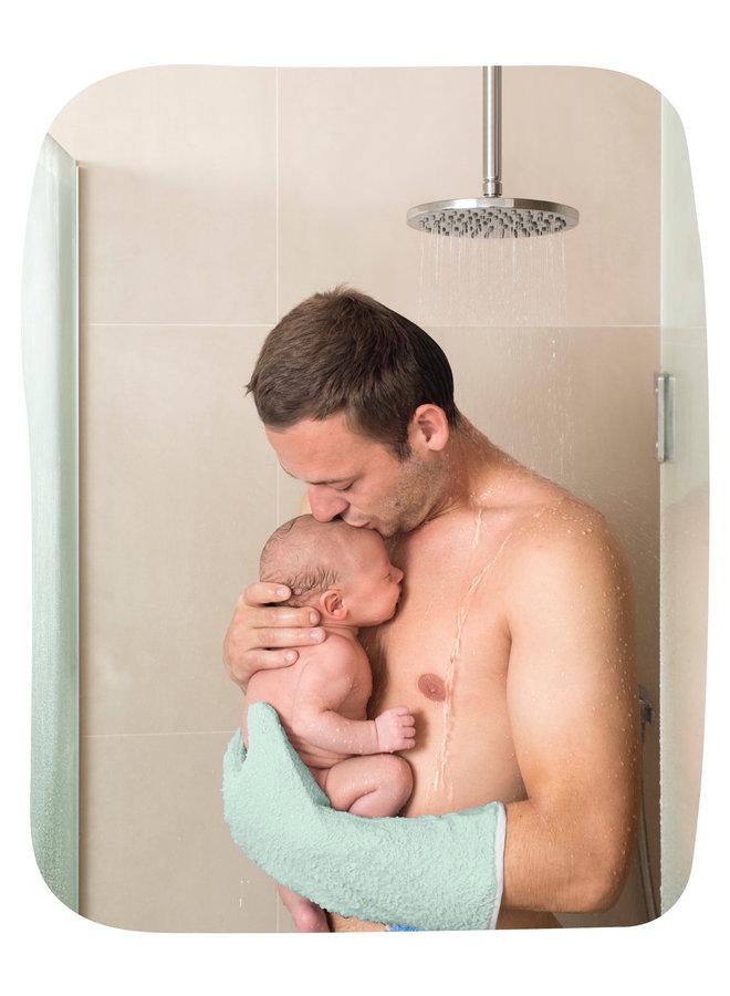 Baby shower glove - Red - Bear