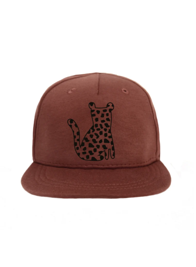 Cap Leopard Spots - Red