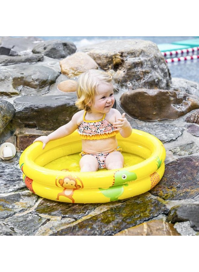 Geel baby zwembad unisex