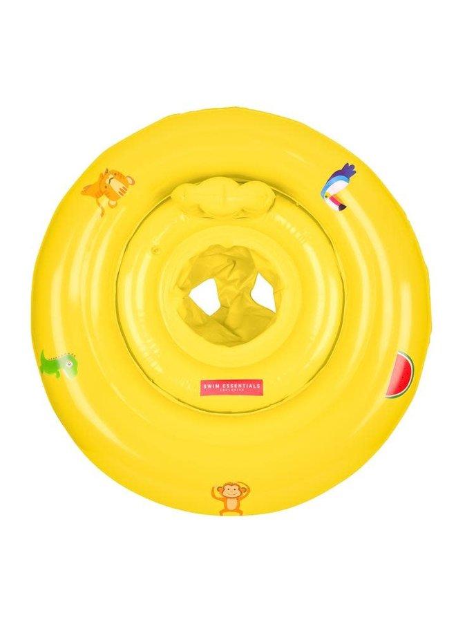 Baby float 0-1 jaar Geel