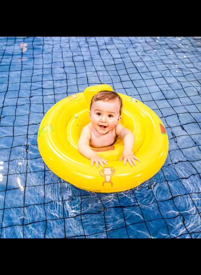 Swim Essentials - Baby float 0-1 jaar Geel