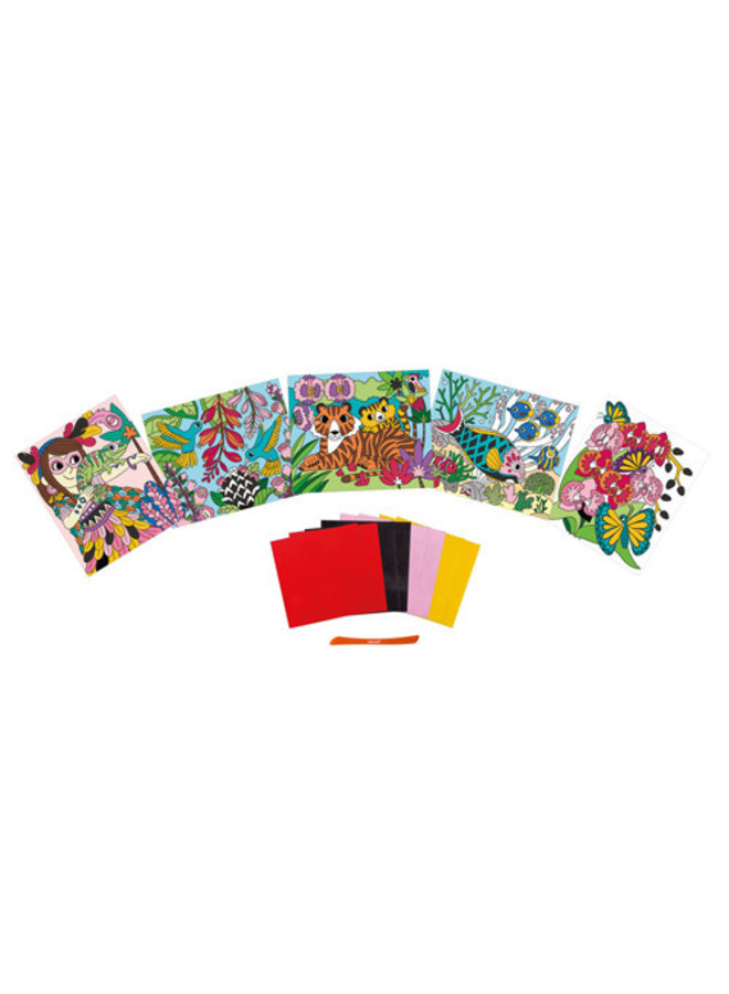 Atelier - Velvet kaarten maken
