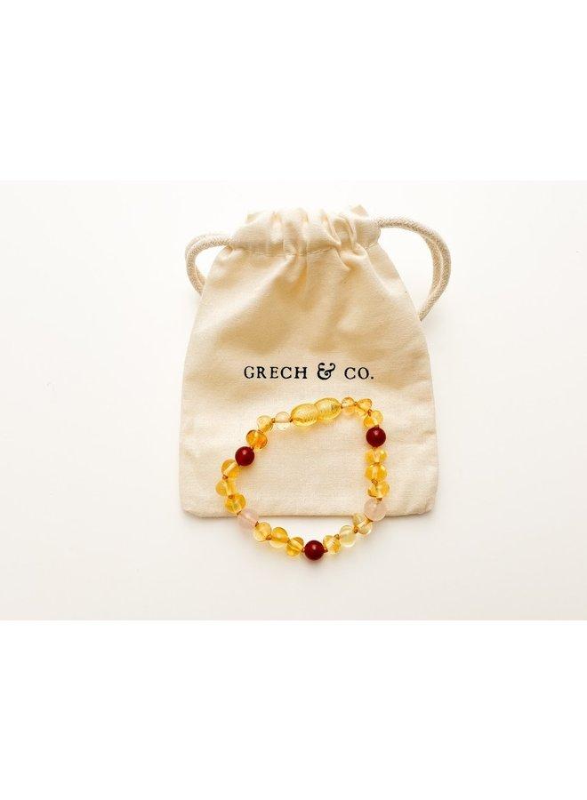 Baltic Amber - Bracelet - Goddess Light