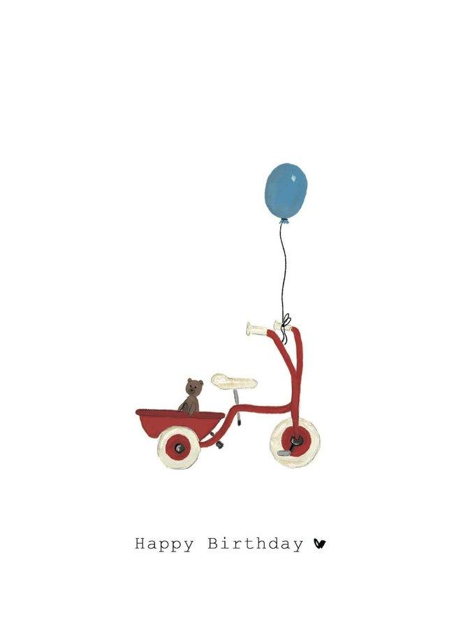 Kaart - Happy Birthday - A0030