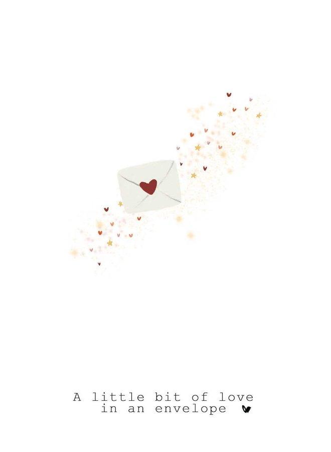 Kaart - A Little Bit of Love - A0028