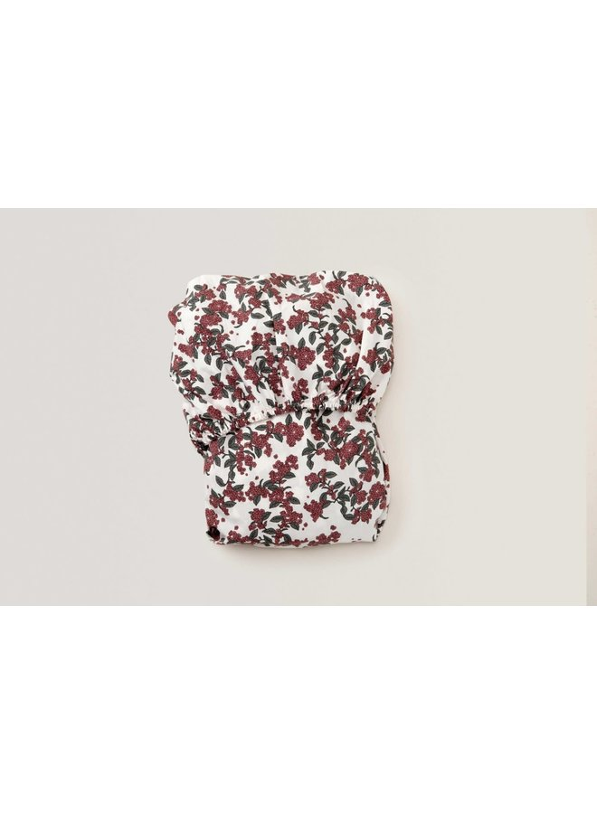 Cherrie Blossom Junior Fitted Sheet - 70 x 140 x 20