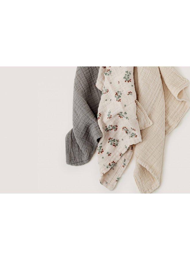 Garbo & Friends - Clover Burp Cloths 3 pcs