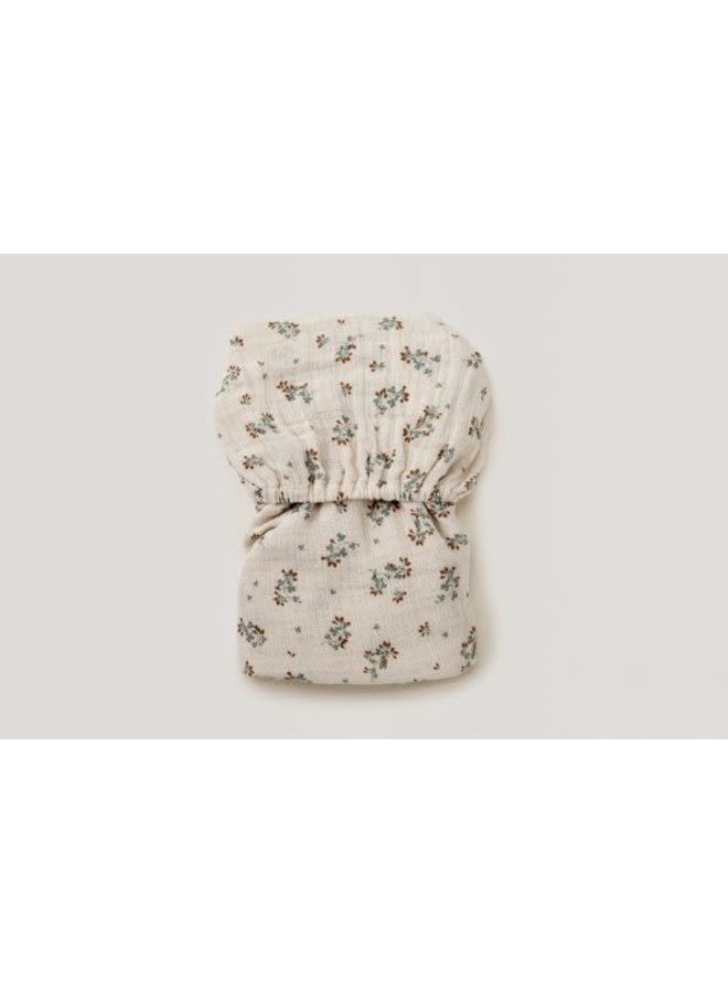 Clover Muslin Fitted Sheet Junior