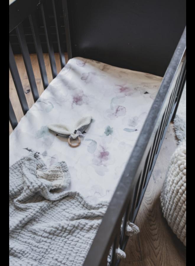 Wiegdeken Mousseline - Gentle Grey