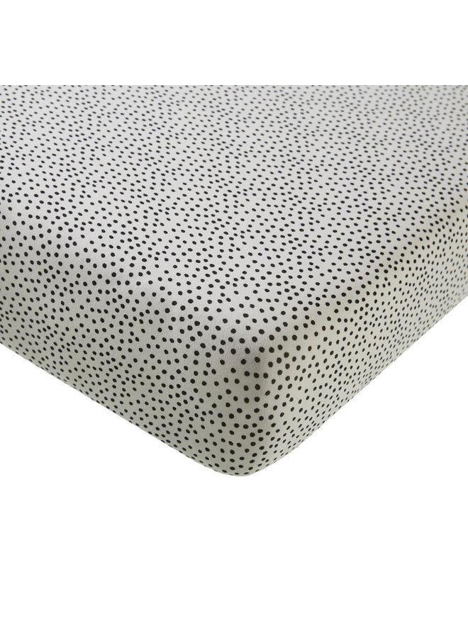 Ledikant Hoeslaken - Cozy Dots